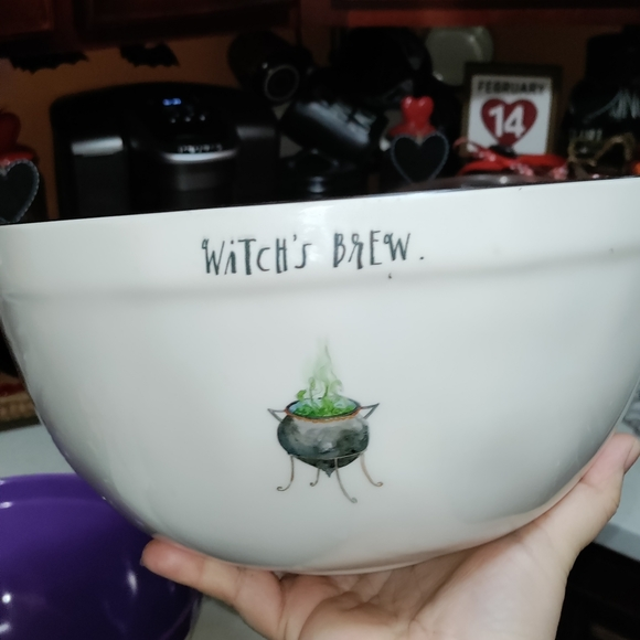 Rae dunn Witch brew Halloween bowl